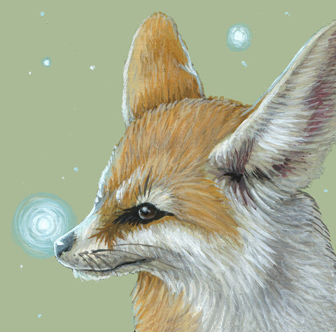 Spirit Fennec Fox