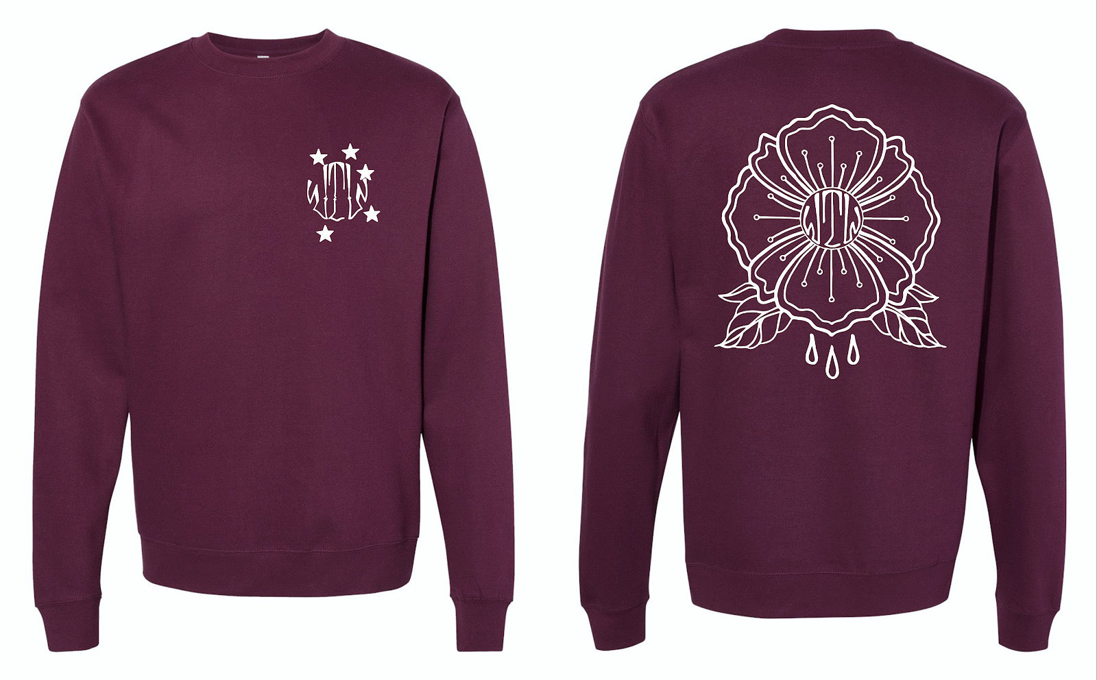 Blood Crew Neck Sweatshirt