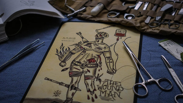 """THE WOUND MAN"""