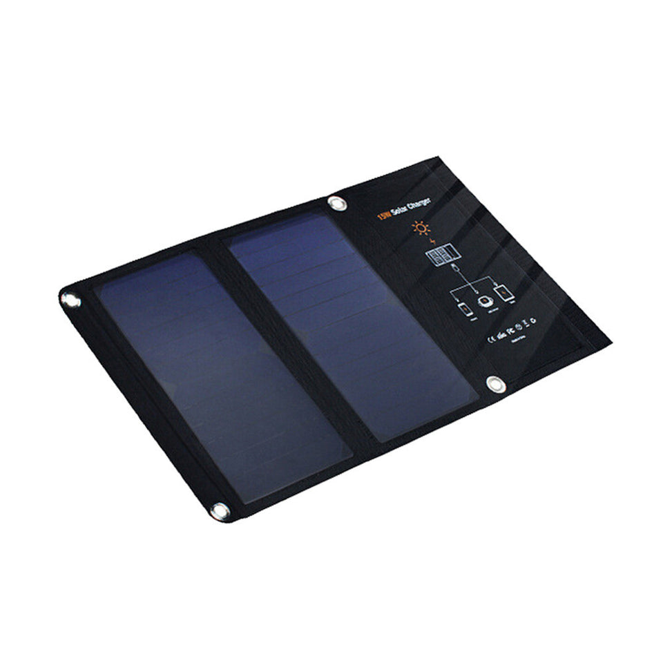 15W Portable USB Solar Charger