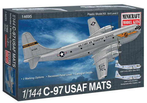 1/144 MINICRAFT C-97 USAF MATS MC-14695