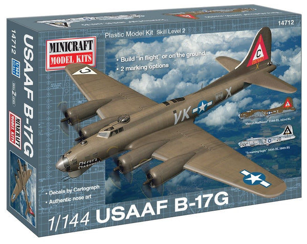 1/144 MINICRAFT USAAF B-17G MC-14712