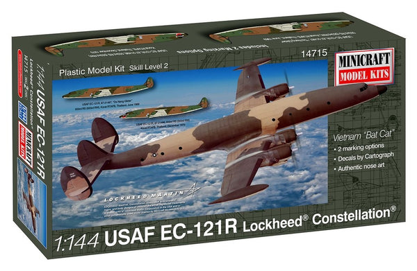 1/144 MINICRAFT USAF EC-121R LOCKHEED CONSTELLATION MC-14715