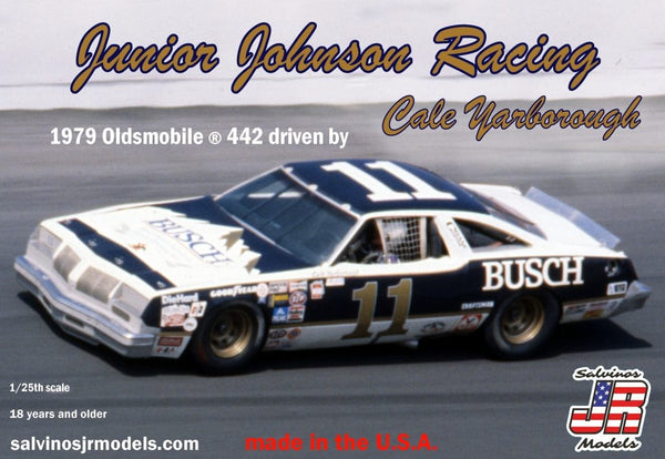 1/25 SALVINOS JR MODELS JUNIOR JOHNSON RACING 1979 OLDSMOBILE 442 JJO1979D