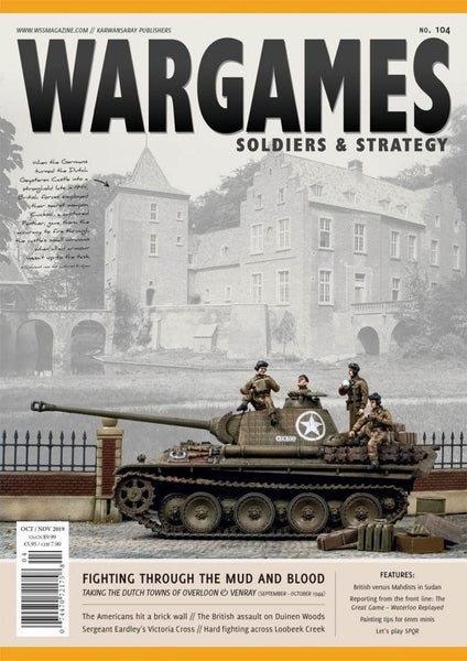 WARGAMES SOLDIERS & STRATEGY ISSUE 104