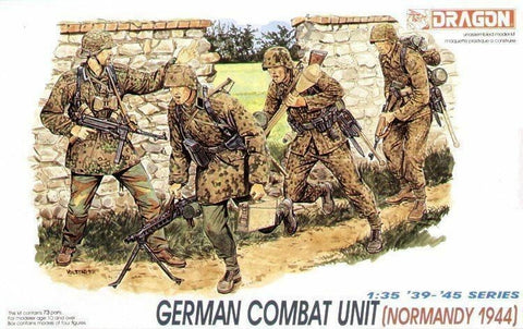 1/35 DRAGON GERMAN COMBAT UNIT (NORMANDY 1944) DR6003