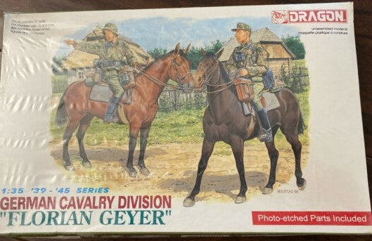 "1/35 DRAGON GERMAN CAVALRY DIVISION ""FLORIAN GEYER"" DR6046"