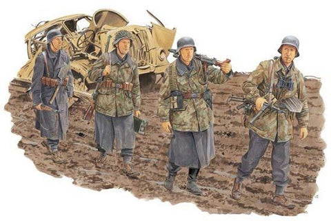 1/35 DRAGON GERMAN INFANTRY, HG DIVISION (ANZIO 1944) DR6158