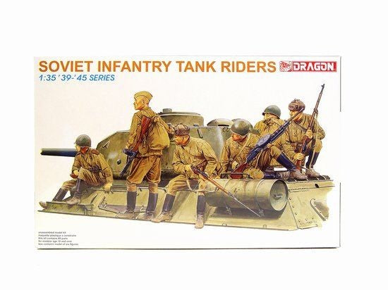 1/35 DRAGON SOVIET INFANTRY TANK RIDERS DR6197