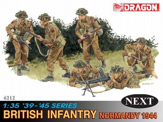 1/35 DRAGON BRITISH INFANTRY NORMANDY 1944 DR6212