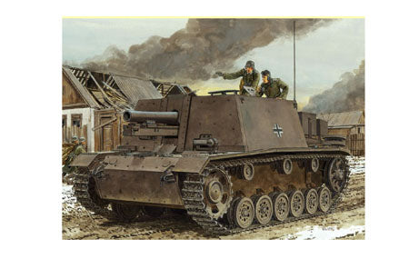 DRAGON 1/35 S.IG.33 AUF FGST.PZ.KPFW.III(SFL) (SMART KIT) DR6713