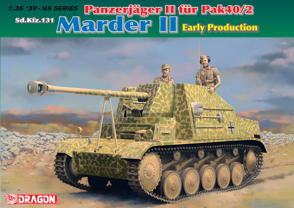 1/35 DRAGON SDKFZ 131 MARDER II EARLY PRODUCTION DR6769