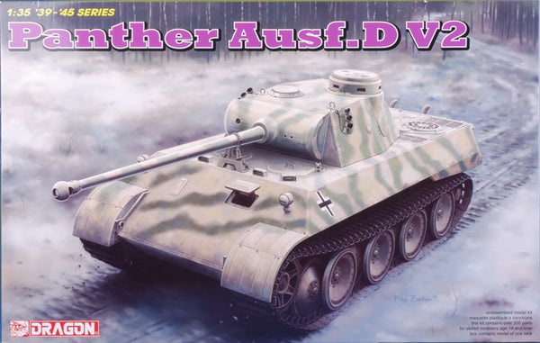 DRAGON 1/35 PANTHER AUSF D V2