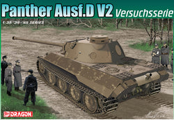 DRAGON 1/35 PANTHER AUSF D V2 VERSUCHSSERIE