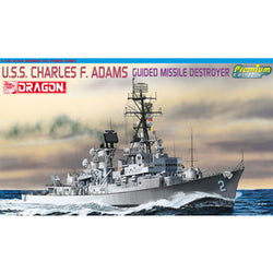 1/700 DRAGON CHARLES F ADAMS W/RAN PERTH CLASS DESTROYER MARKINGS DR7059