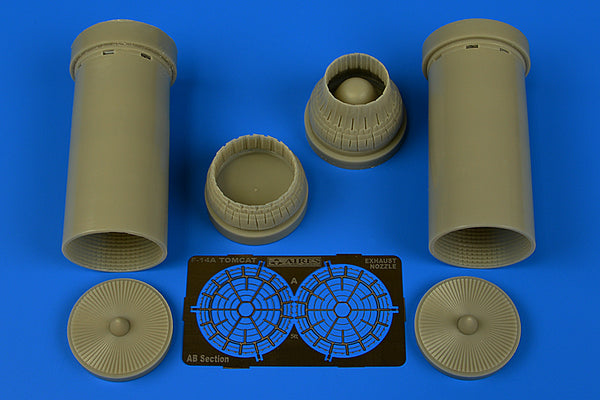 1/48 F-14A TOMCAT EXHAUST NOZZLES VARIED SUIT TAMIYA KIT