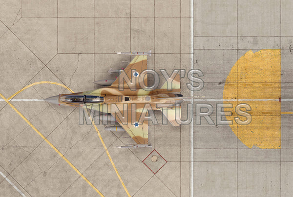 1/72 NOYS MINIATURES IDF/AF HAS AND TAXIWAY AIRBASE TARMAC SHEET