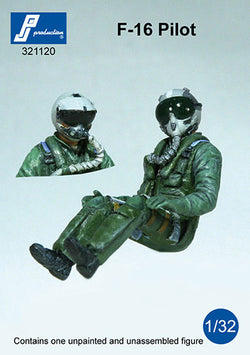 1/32 PJ PRODUCTIONS F-16/F-18 PILOT