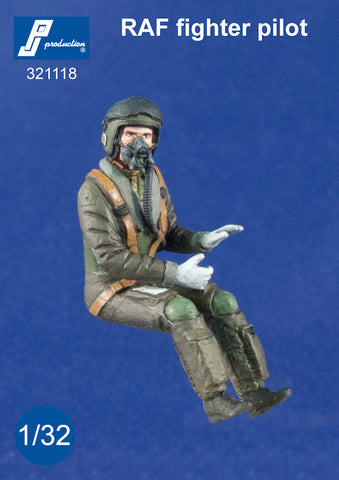 1/32 PJ PRODUCTIONS RAF FIGHTER PILOT