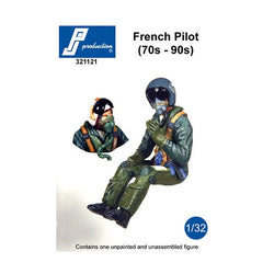 1/32 PJ PRODUCTIONS MODERN FRENCH PILOT (70s - 90s)