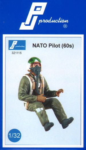 1/32 PJ PRODUCTIONS NATO PILOT (1960s)