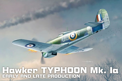 1/72 BRENGUN HAWKER TYPHOON MK 1A EARLY AND LATE PRODUCTION BRP72012