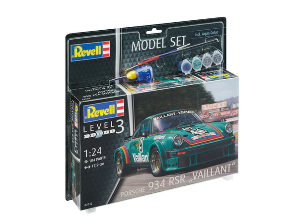 "1/24 REVELL PORSCHE 934 RSR ""VALIANT""  SET  RV67032"