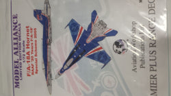 1/72 MODEL ALLIANCE F/A-18A HORNET RAAF 20 YEARS F/A-18 2005 MAS729015