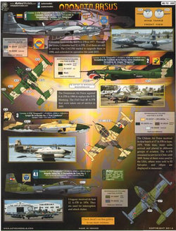 1/48 AZTEC MODELS ODONATA ARSUS SOUTH AMERICAN AIRFORCES A-37 DRAGONFLYS AZD4855