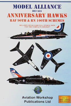 1/48 MODEL ALLIANCE ANNIVERSARY HAWKS RAF 90TH & RN 100TH ANNIN SCHEMES MAS489037