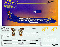 "1/144 JET DECALS 737-300 ""THRIFTY"" JD144005"