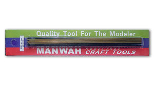 1.6MM X 200MM MANWAH BRASS TUBE (5 PER PACK) MW-3115