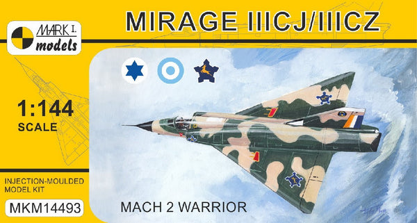 1/144 MARK 1 MODELS MIRAGE IIICJ/IIICZ MKM14493
