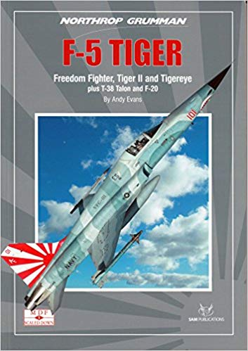 THE NORTHROP GRUMMAN F-5 TIGER. (FREEDOM FIGHTER, TIGER II AND TIGEREYE) MDF SCALED DOWN SAMSD05