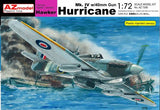 1/72 AZ MODELS HURRICANE MK.IV W/40MM GUNS AZM73006