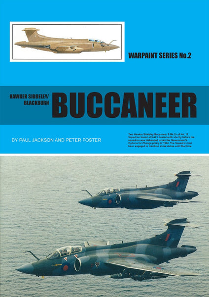 HAWKER SIDDELY/BLACKBURN BUCCANEER WARPAINT SERIES NO.2 WPS02