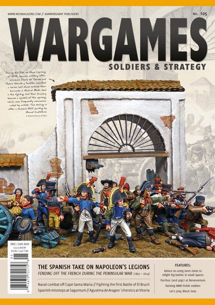 WARGAMES SOLDIERS AND STRATEGY WSS105