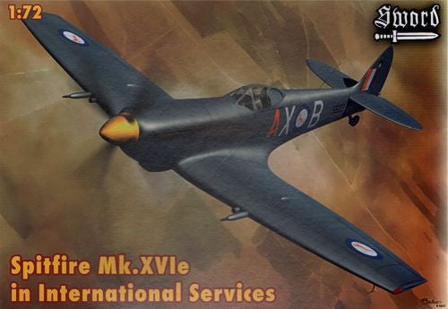 1/72 SWORD SPITFIRE MK.XVIE IN INTERNATIONA L SERVICE SW72068