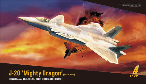 "DREAM MODEL 1/72 J20 MIGHTY DRAGON ""IN SERVICE"" DM720010"