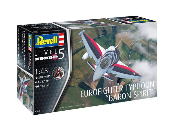 "1/48 REVELL EUROFIGHTER TYPHOON ""BARON SPIRIT"" RV3848"