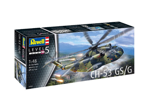 1/48 REVELL CH-53 GS/G HELICOPTER RV03856