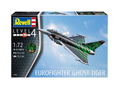 "1/72 REVELL EUROFIGHTER TYPHOON ""GHOST TIGER "" RV3884"