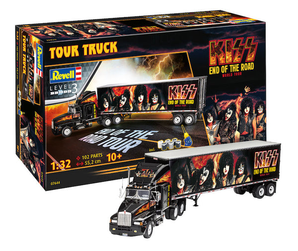"1/32 REVELL KISS ""END OF THE ROAD"" TOUR TRUCK RV7644"