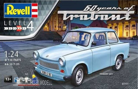 "1/24 REVELL TRABANT 601S ""60 YEARS""  RV07777"