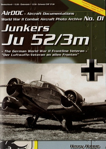 JUNKERS JU 52/3M AIRDOC NO:1 ADC001