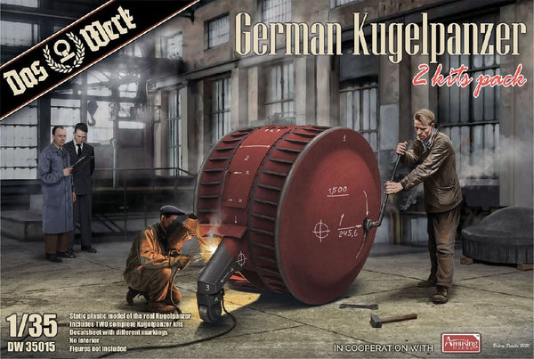 1/35 DAS WERK GERMAN KUGELPANZER (2 KIT PACK) DW35015