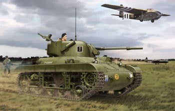 1/35 BRONCO MODELS M22 LOCUST (T9E1) AIRBORNE TANK (BRITISH VERSION) CB35161