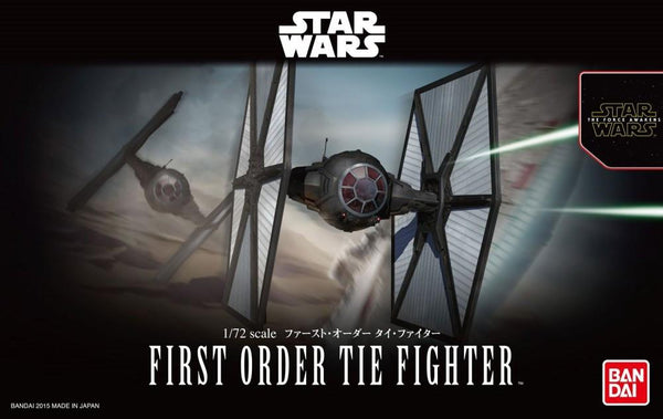 1/72 BANDAI FIRST ORDER TIE FIGHTER  02032181