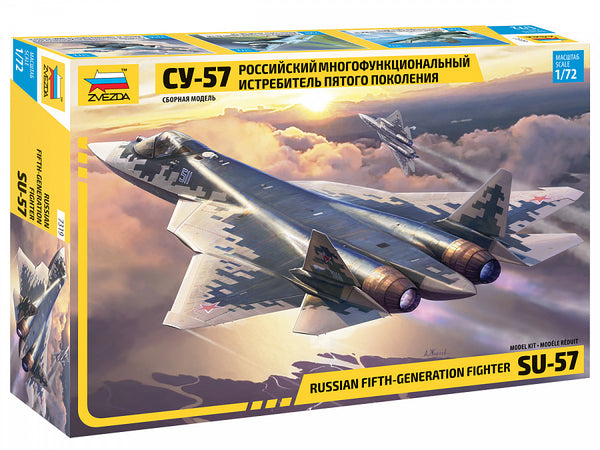 1/72 ZVEZDA SU-57 RUSSIAN 5TH GENERATION FIGHTER ZV7319