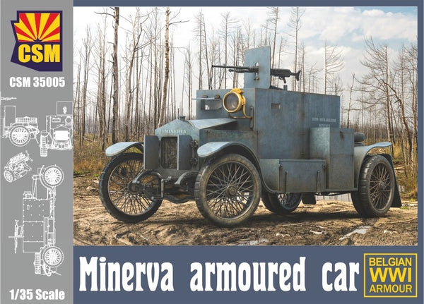 1/35 CSM MINERVA ARMOURED CAR CSM35004